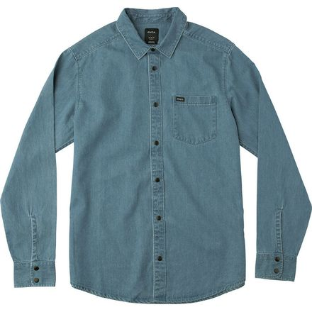 RVCA Mason Long-Sleeve Button-Down Shirt - Men's