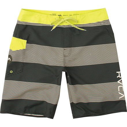 RVCA Civil Stripe Trunk - Men's
