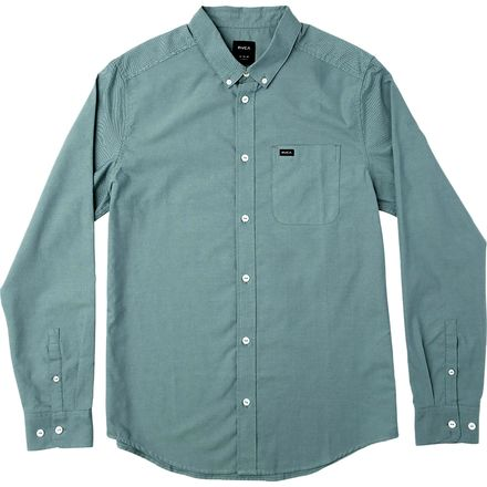 RVCA That'll Do Oxford Long-Sleeve Shirt - Men's
