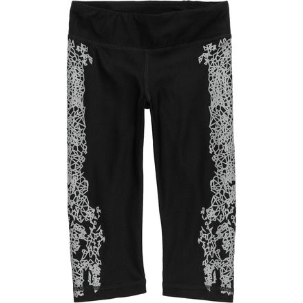 RCTIV8 Kaleidoscope Reflective Capri - Girls'