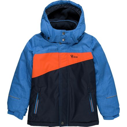 Stoic Bomber Colorblock Ski Jacket - Boys'