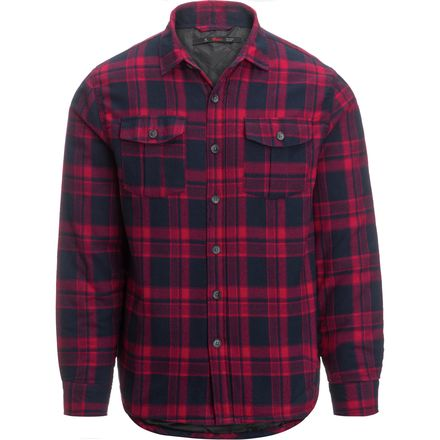 Stoic Brick Top Plaid Shirt Jacket - Men's