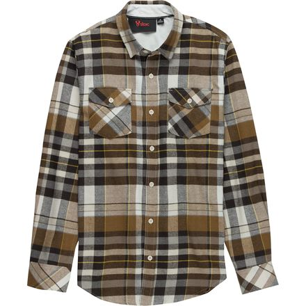 Stoic Black Swamp Flannel Shirt - Men's