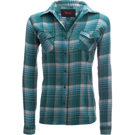 Stoic Doe Flannel Shirt - Women's