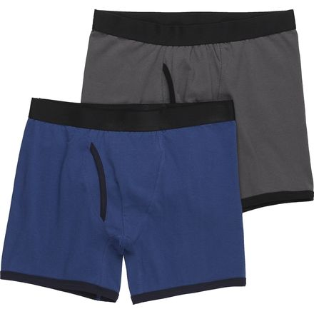 Stoic Cotton Stretch Boxers 2-Pack - Men's
