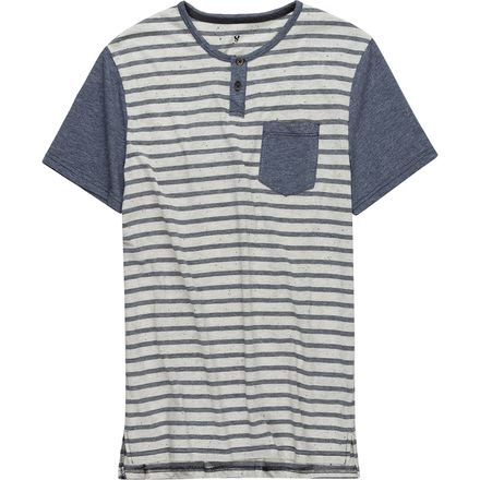 Stoic Striped Henley T-Shirt - Men's