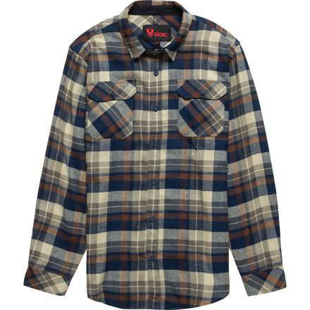 Stoic Black Forest Flannel Shirt - Men's