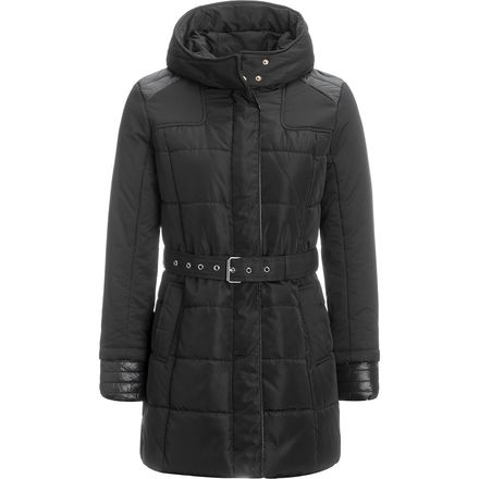 Stoic Insulated Belted Jacket for Womens