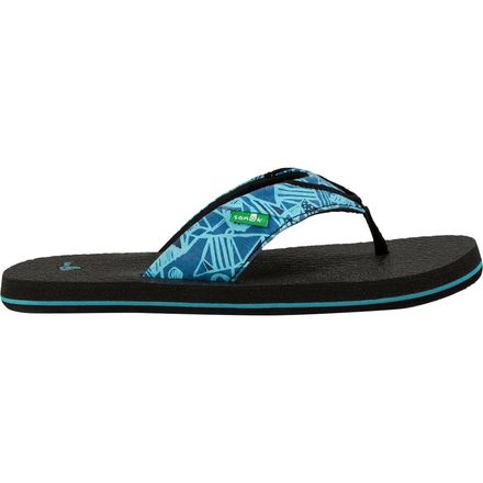 Sanuk Root Beer Cozy Funk Flip Flop - Toddler Boys'