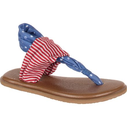 Sanuk Yoga Sling Patriot Sandal - Toddler Girls'