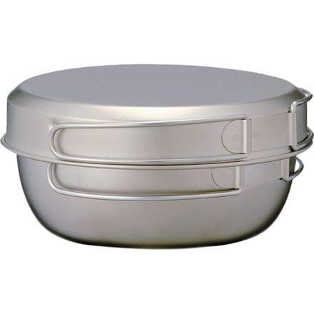 Snow Peak Titanium Cookware 3pcs
