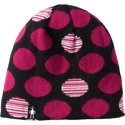 Smartwool Wintersport Reversible Dot Hat - Girls'
