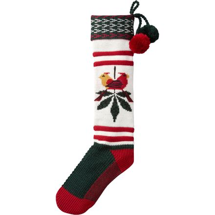 SmartWool Charley Harper Consorting Cardinals Stocking