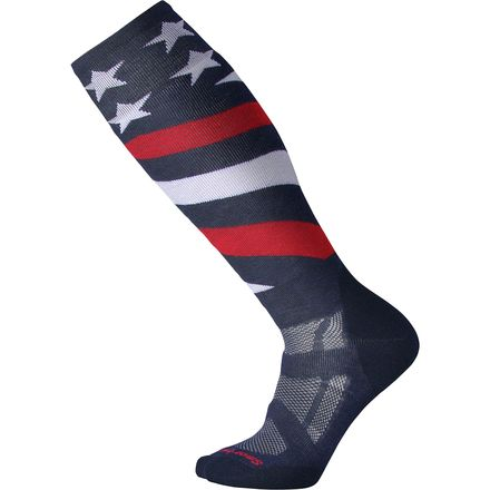 Smartwool USA Flag Midweight Snowboard Sock