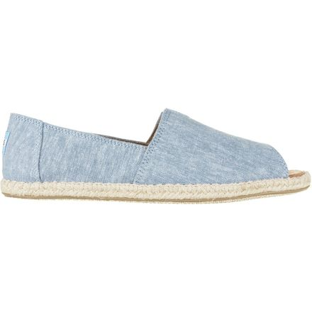 Toms Alpargata Open Toe Shoe - Women's