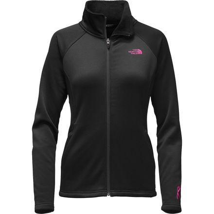 The North Face Pink Ribbon Agave Full-Zip - Women's