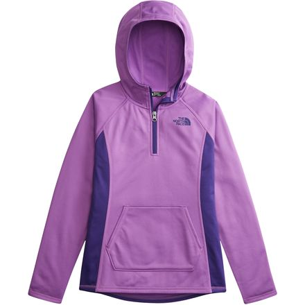 The North Face Tech Glacier 1/4-Zip Hoodie - Girls'