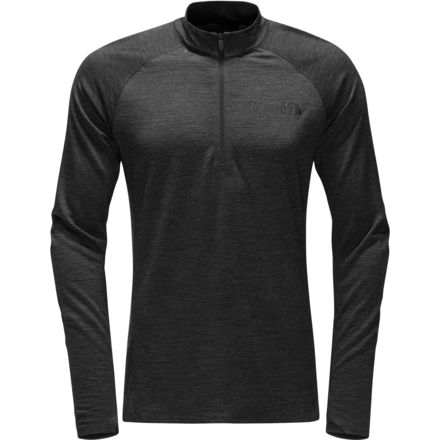 The North Face Merino Wool Baselayer Zip Neck Top Mens