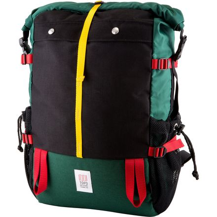 Topo Designs Mountain 22.4L Roll-Top Backpack