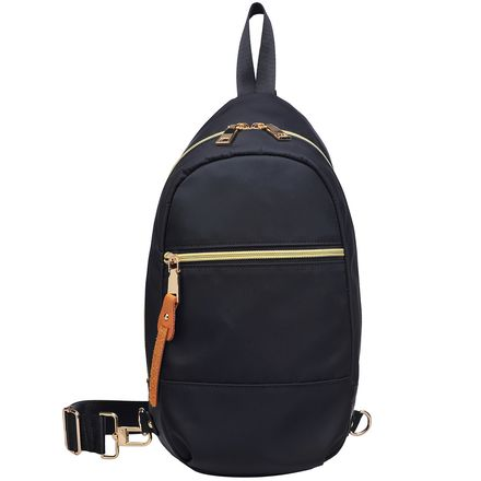 Urban Expressions Yoga Backpack with Side Zip Detail