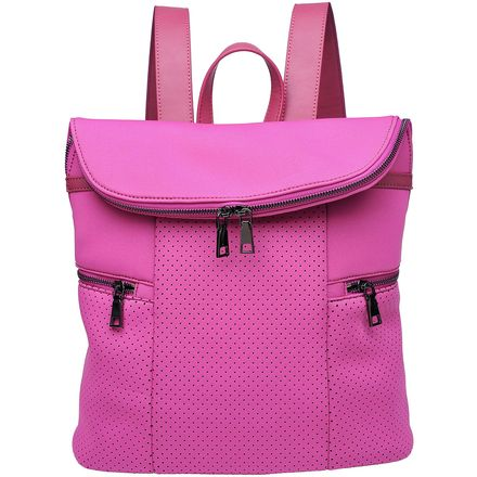Urban Expressions Double Zip Top Yoga Backpack - Women's
