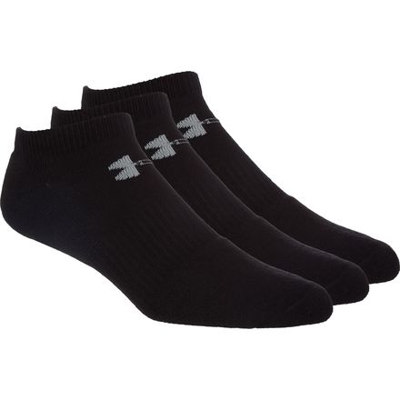 Under Armour Charged Cotton 2.0 No Show Sock - Kids'
