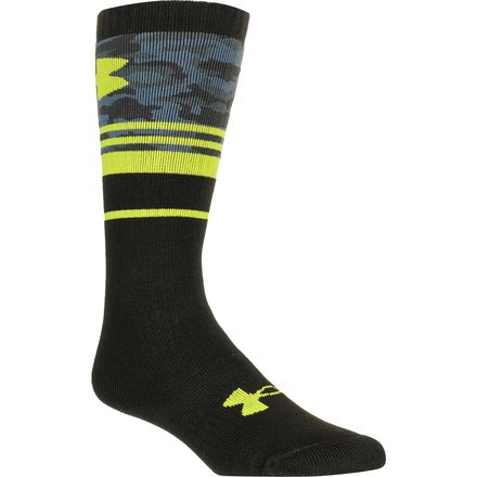 Under Armour Mountain Big Camo Over The Knee Sock - Boys'