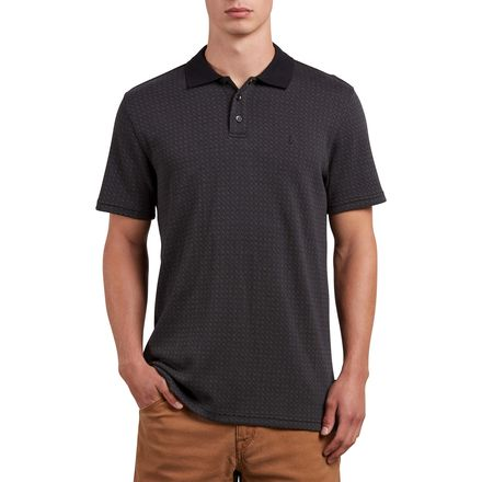 Volcom Wowzer Plaid Polo - Men's