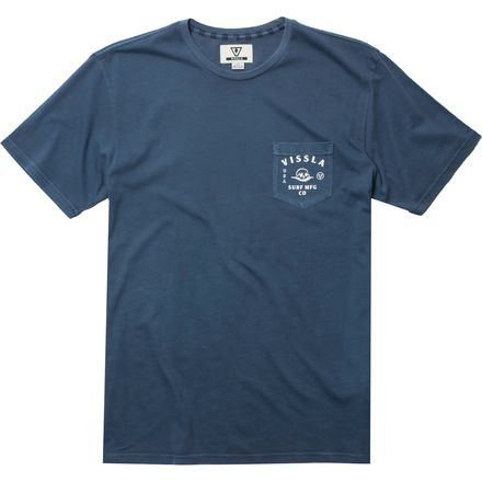 Vissla Brainpan Pigment Short-Sleeve T-Shirt - Men's