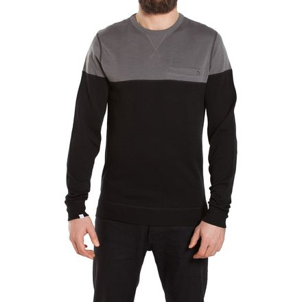 We Norwegians BaseTwo ColorBlock Crewneck Sweater - Men's