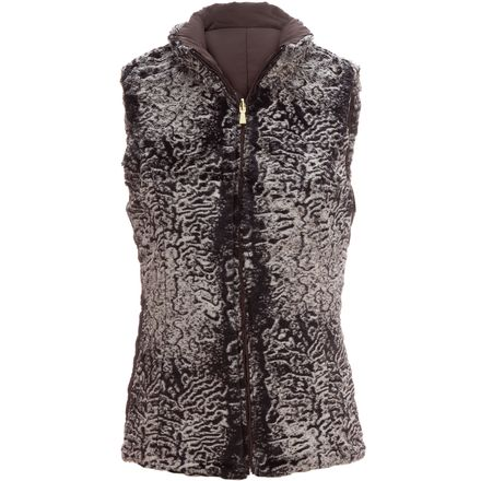 Weatherproof Puffer Reversible Chevron Vest - Women's