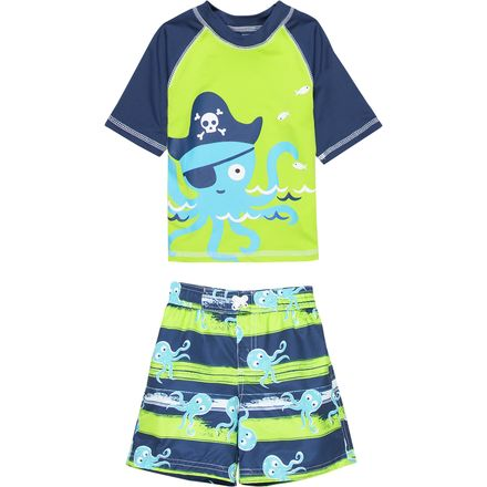 Wippette Octopus Pirate Swim Set - Toddler Boys'
