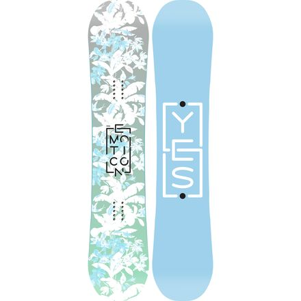 Yes. Emoticon Snowboard - Women's | Backcountry.com