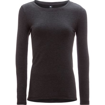 Yogalicious High Low Long-Sleeve Top with Side Slits - Women's