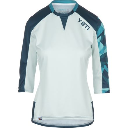 Yeti Cycles Enduro Jersey - 3/4-Sleeve - Women's