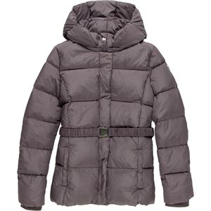 ADD Down Waist Jacket with Removable Hood - Girls'