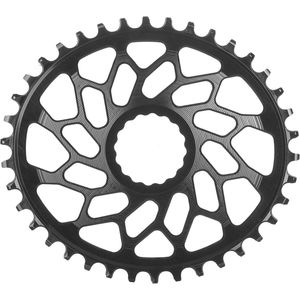 Absolute Black Easton Oval Direct Mount Chainring