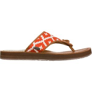 Acorn Artwalk Leather Flip Flop - Women's