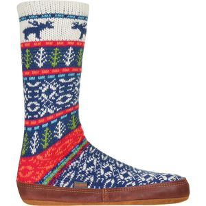 Acorn Slipper Sock - Women's