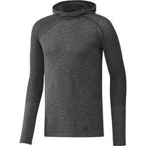 Adidas Primeknit Long-Sleeve Hooded T-Shirt - Men's