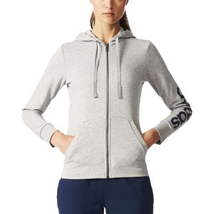 Adidas Essentials Linear Full-Zip Hoodie - Women's