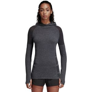 Adidas Ultra Climaheat Primeknit Hooded Shirt - Women's
