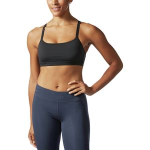 Adidas Printed Strappy Sports Bra - Women's