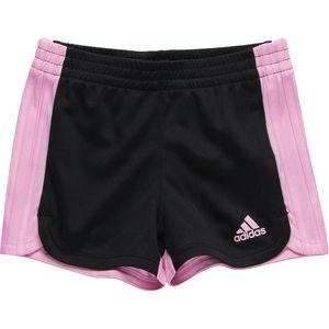 Adidas 3 Stripe Blocked Short - Toddler Girls'