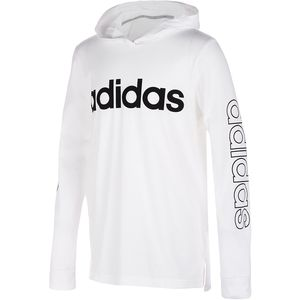 Adidas Hooded Linear T-Shirt - Toddler Boys'