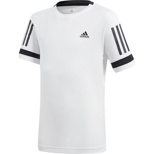Adidas Club 3 Stripe Training T-Shirt - Boys'