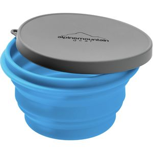 Alpine Mountain Gear Collapsible Silicone Bowl