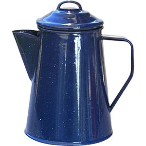 Alpine Mountain Gear Enamel 8 Cup Coffee Percolator