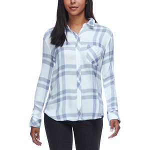 Rails Hunter Riverstone/White Long-Sleeve Button Up - Women's