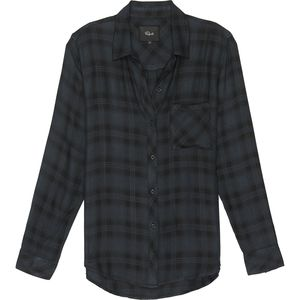 Rails Hunter Black/Sacramento Long-Sleeve Button Up - Women's